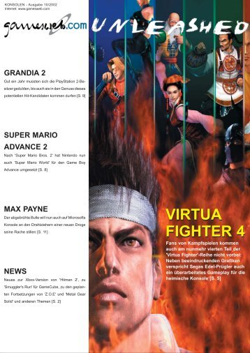 Ausgabe 10/2002 - Gameswelt