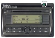 ŠkodaAuto CAR RADIO DANCE - Media Portal - Škoda Auto