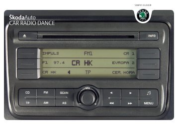 ŠkodaAuto CAR RADIO DANCE - Media Portal - Škoda Auto