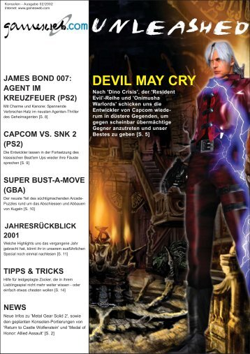 Ausgabe 02/2002 - Gameswelt