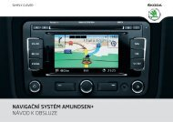 navigační systém amundsen+ návod k obsluze - Media Portal ...