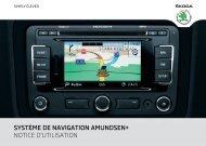 système de navigation amundsen+ notice d'utilisation - Media Portal ...