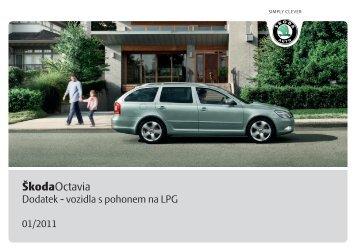 Dodatek - vozidla s pohonem na LPG - Media Portal