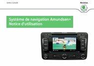 Système de navigation Amundsen+ Notice d'utilisation