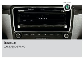 ŠkodaAuto CAR RADIO SWING - Media Portal - Škoda Auto