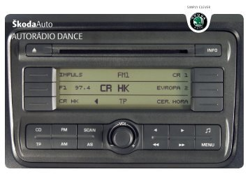 ŠkodaAuto AUTORÁDIO DANCE - Media Portal - škoda auto