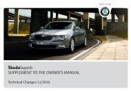 B6_Superb_TechnicalChange - Media Portal - Škoda Auto