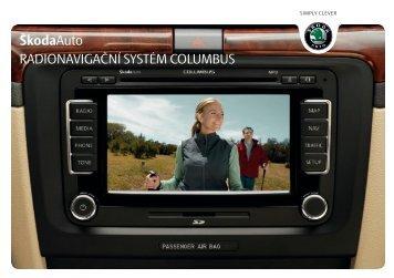 Navigační systém Columbus - Media Portal - Škoda Auto