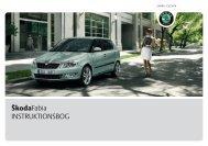 ŠkodaFabia INSTRUKTIONSBOG - Media Portal - Škoda Auto