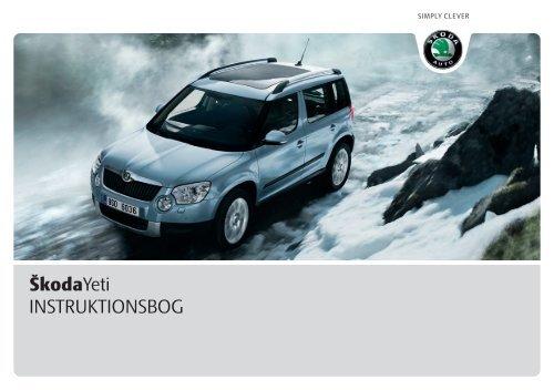 ŠkodaYeti INSTRUKTIONSBOG - Media Portal - Škoda Auto