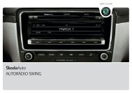ŠkodaAuto AUTORÁDIO SWING - Media Portal - Škoda Auto