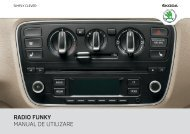 RADIO FUNK MANUAL DE UTILIZARE - Media Portal - Skoda