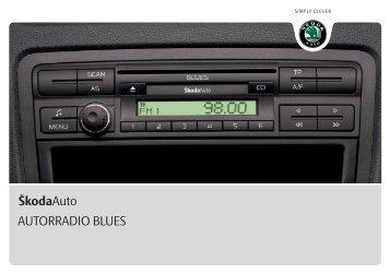 ŠkodaAuto AUTORRADIO BLUES - Media Portal - škoda auto