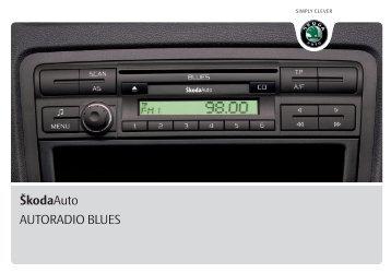 ŠkodaAuto AUTORADIO BLUES - Media Portal - škoda auto