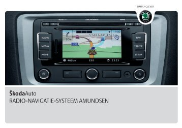 ŠkodaAuto RADIO-NAVIGATIE-SYSTEEM AMUNDSEN