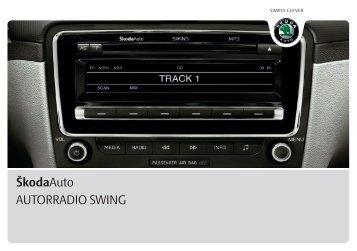 ŠkodaAuto AUTORRADIO SWING - Media Portal - Skoda
