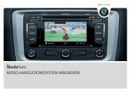 ŠkodaAuto RADIO-NAVIGATIONSSYSTEM AMUNDSEN