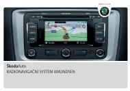 Navigační systém Amundsen - Media Portal - Škoda Auto