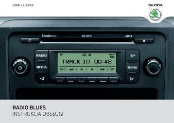 RADIO BLUES INSTRUKCJA OBSŁUGI - Media Portal - Škoda Auto