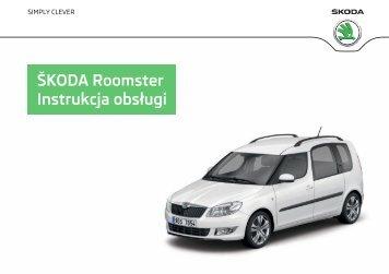 ŠKODA Roomster Instrukcja obsługi - Media Portal - Škoda Auto