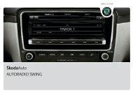 ŠkodaAuto AUTORADIO SWING - Media Portal - Skoda