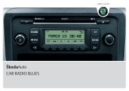 A05_Fabia_Blues_CarRadio - Media Portal - Skoda