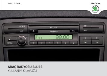 araç radyosu blues - Media Portal - škoda auto