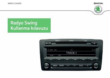 Radyo Swing Kullanma kılavuzu - Media Portal - Škoda Auto