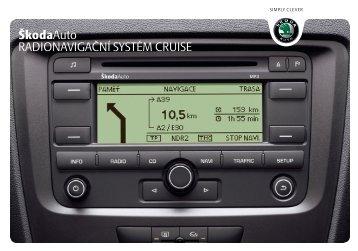 Navigační systém Cruise - Media Portal - Skoda