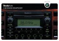 B5_Superb_Rhapsody_since05_CarRadio - Media Portal - Škoda ...