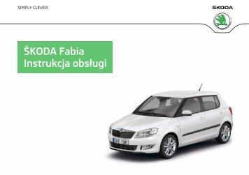 ŠKODA Fabia Instrukcja obsługi - Media Portal - Škoda Auto