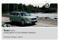A5_Octavia_TechnicalChange - Media Portal - Škoda Auto