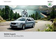 Manual de instruções - Media Portal - Škoda Auto