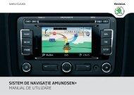 sistem de navigaţie amundsen+ manual de utilizare - Media Portal ...