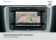 navigationssystemet columbus instruktionsbok - Media Portal ...