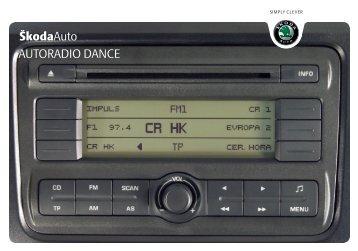 ŠkodaAuto AUTORADIO DANCE - Media Portal - Škoda Auto