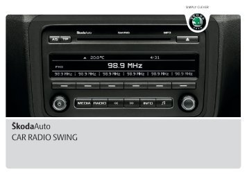 A05_Fabia_Swing_CarRadio - Media Portal - Škoda Auto