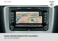 radio-navigationssystem columbus instruktionsbok - Media Portal ...
