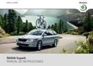 ŠKODA Superb MANUAL DE INSTRUCCIONES - Media Portal