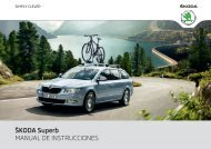 ŠKODA Superb MANUAL DE INSTRUCCIONES - Media Portal ...