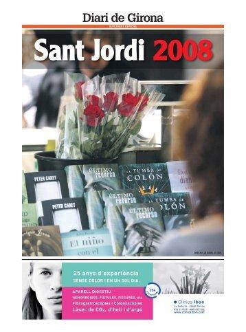Sant Jordi 2008 - Diari de Girona
