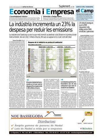 Economia i Empresa el Camp - Diari de Girona