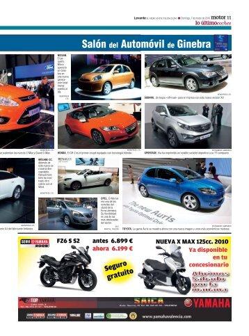 Salón del Automóvil de Ginebra - Levante-EMV