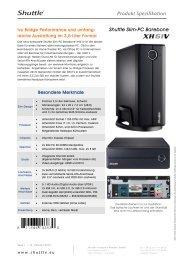 Produkt Spezifikation - Digitec