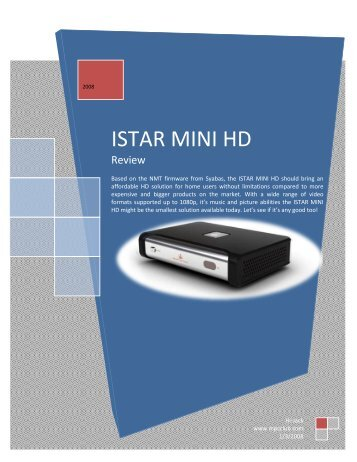 ISTAR MINI HD - Digitec