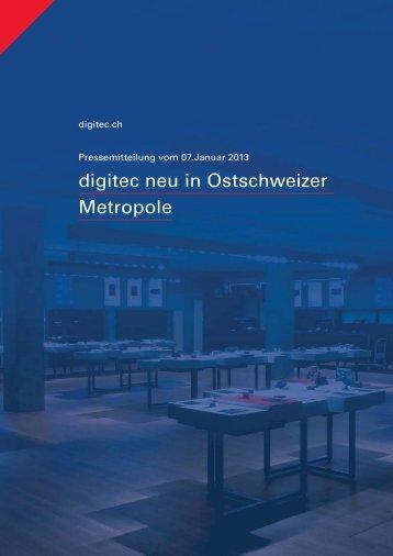 Pressemitteilung - Digitec