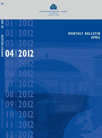 ECB Monthly Bulletin, April 2012 - Il Sole 24 Ore