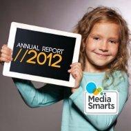 Annual Report 2012 - Media Smarts