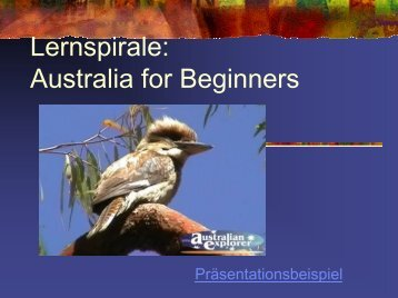 Australia for Beginners