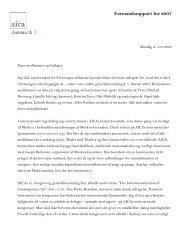 Formandens beretning 2007 - Foreningen af Danske Kunstkritikere